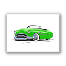 Load image into Gallery viewer, Buick Super Riviera (1952) Convertible - Caricature Car Art Print