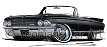 Load image into Gallery viewer, Cadillac Eldorado Biarritz (1962) - Caricature Car Art Coffee Mug