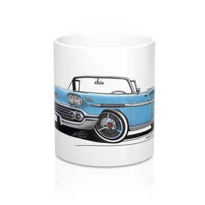 Chevrolet Bel Air Impala (1958) Convertible - Caricature Car Art Coffee Mug