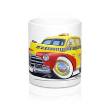 Load image into Gallery viewer, Chevrolet Fleetmaster (1948) NY Taxi - Caricature Car Art Coffee Mug
