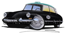 Load image into Gallery viewer, Citroen DS Taxi - Caricature Car Art Coffee Mug
