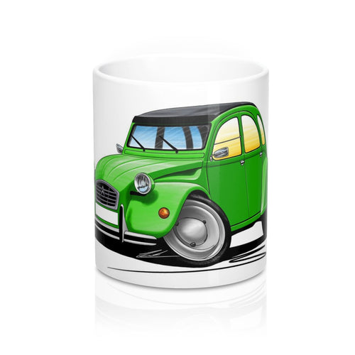 Citroen 2CV - Caricature Car Art Coffee Mug