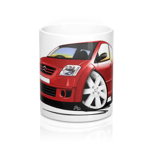 Citroen C2 GT - Caricature Car Art Coffee Mug