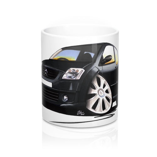 Citroen C2 VTS - Caricature Car Art Coffee Mug