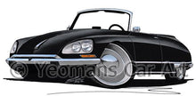Load image into Gallery viewer, Citroen DS21 Cabriolet - Caricature Car Art Coffee Mug