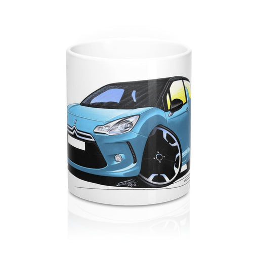 Citroen DS3 - Caricature Car Art Coffee Mug