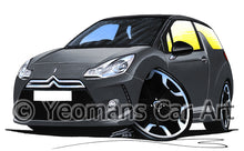 Load image into Gallery viewer, Citroen DS3 - Caricature Car Art Print