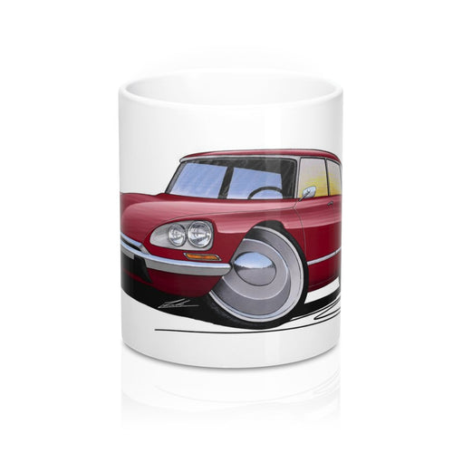 Citroen DS21 - Caricature Car Art Coffee Mug