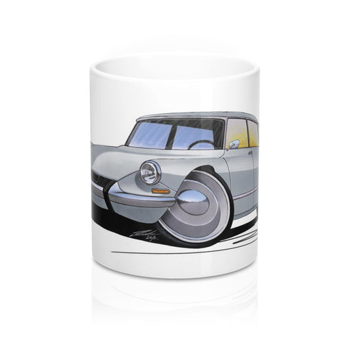 Citroen DS - Caricature Car Art Coffee Mug