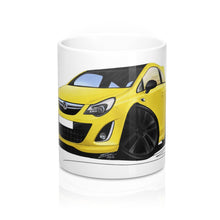 Load image into Gallery viewer, Vauxhall Corsa D (Facelift) Ltd Edition - Caricature Car Art Coffee Mug