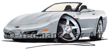 Load image into Gallery viewer, Chevrolet Corvette C5 Convertible - Caricature Car Art Coffee Mug