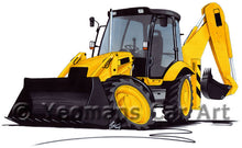 Load image into Gallery viewer, Digger 3 - Caricature Car Art Print