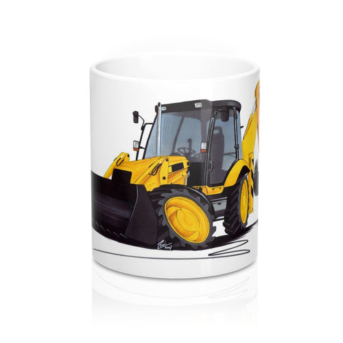Digger 3 - Caricature Car Art Coffee Mug
