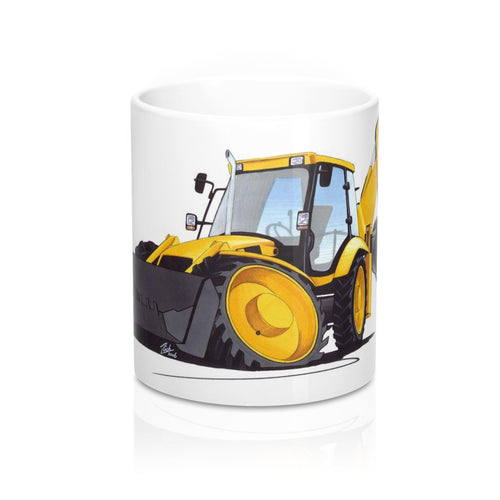 Digger 4 - Caricature Car Art Coffee Mug