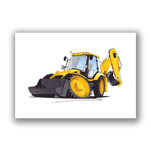 Load image into Gallery viewer, Digger 4 - Caricature Car Art Print