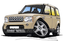 Load image into Gallery viewer, Land Rover Discovery 4 - Caricature Car Art Coffee Mug