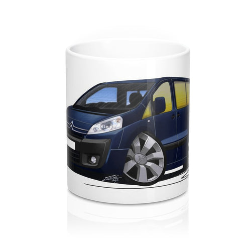Citroen Dispatch Combi - Caricature Car Art Coffee Mug