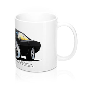 Dodge Charger - Caricature Car Art Coffee Mug