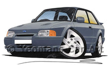 Load image into Gallery viewer, Ford Escort (Mk4) RS Turbo S2 - Caricature Car Art Coffee Mug