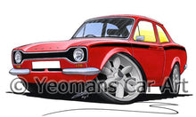 Load image into Gallery viewer, Ford Escort (Mk1) Mexico - Caricature Car Art Coffee Mug