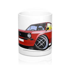 Load image into Gallery viewer, Ford Escort (Mk2) Mexico - Caricature Car Art Coffee Mug
