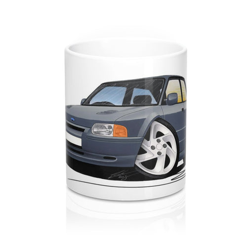 Ford Escort (Mk4) RS Turbo S2 - Caricature Car Art Coffee Mug