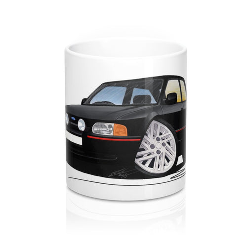 Ford Escort (Mk4) XR3i (90-Spec) - Caricature Car Art Coffee Mug