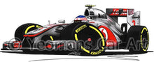 Load image into Gallery viewer, 2012 - McLaren MP4-27 - Jenson Button - Caricature F1 Car Art Mug