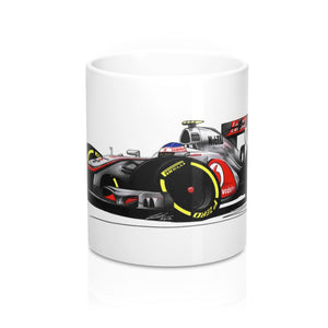 2012 - McLaren MP4-27 - Jenson Button - Caricature F1 Car Art Mug