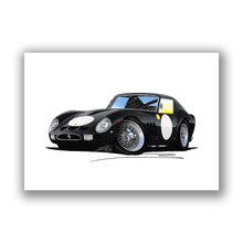 Load image into Gallery viewer, Ferrari 250 GTO (Racer) - Caricature Car Art Print