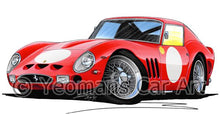 Load image into Gallery viewer, Ferrari 250 GTO (Racer) - Caricature Car Art Coffee Mug