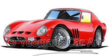 Load image into Gallery viewer, Ferrari 250 GTO - Caricature Car Art Coffee Mug