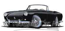Load image into Gallery viewer, Ferrari 250 GT Cabriolet Pininfarina - Caricature Car Art Coffee Mug