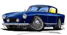 Load image into Gallery viewer, Ferrari 250 GT Coupe - Caricature Car Art Print