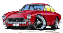 Load image into Gallery viewer, Ferrari 250 Lusso Berlinetta - Caricature Car Art Coffee Mug