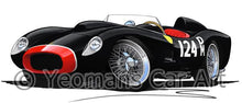 Load image into Gallery viewer, Ferrari 250 Testa Rossa (Racer) - Caricature Car Art Coffee Mug