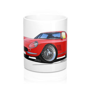 Ferrari 275 GTB - Caricature Car Art Coffee Mug