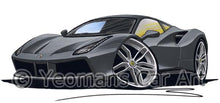 Load image into Gallery viewer, Ferrari 488 GTB - Caricature Car Art Coffee Mug