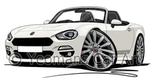 Load image into Gallery viewer, Fiat 124 Spider - Caricature Car Art Coffee Mug