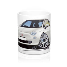 Load image into Gallery viewer, Fiat 500 - Caricature Car Art Coffee Mug