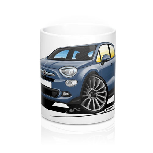 Fiat 500x City - Caricature Car Art Coffee Mug