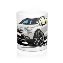 Load image into Gallery viewer, Fiat 500x - Caricature Car Art Coffee Mug