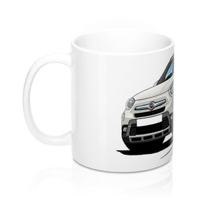 Fiat 500x - Caricature Car Art Coffee Mug
