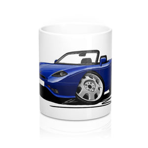 Fiat Barchetta - Caricature Car Art Coffee Mug