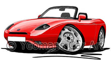 Load image into Gallery viewer, Fiat Barchetta - Caricature Car Art Coffee Mug