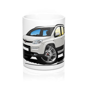 Fiat Panda (Mk3) 4x4 / Trekking - Caricature Car Art Coffee Mug