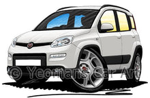 Load image into Gallery viewer, Fiat Panda (Mk3) 4x4 / Trekking - Caricature Car Art Coffee Mug