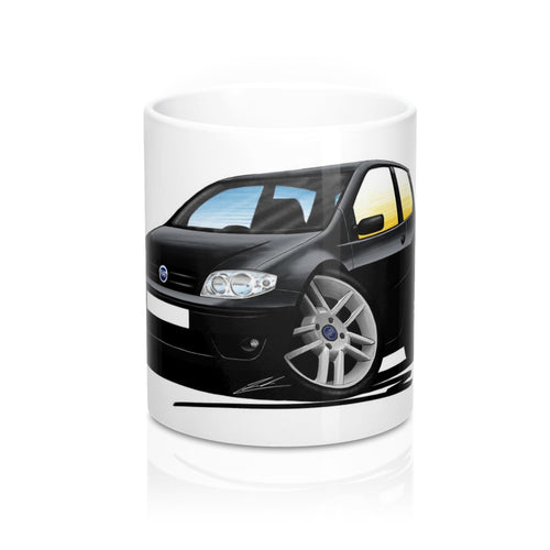 Fiat Punto (Mk2)(Facelift) - Caricature Car Art Coffee Mug