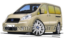 Load image into Gallery viewer, Fiat Scudo - Caricature Car Art Coffee Mug