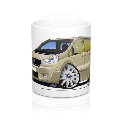 Fiat Scudo - Caricature Car Art Coffee Mug